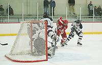 St Paul's School varsity boys hockey versus Belmont Hill.  ©2017 Karen Bobotas Photographer