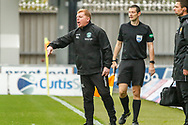 Hibernian FC Manager Neil Lennon getting frustrated as St Mirren apply more pressure during the Ladbrokes Scottish Premiership match between St Mirren and Hibernian at the Simple Digital Arena, Paisley, Scotland on 29th September 2018.