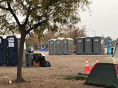Tent City in Chico CA - 18 Nov 2018