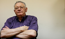 Portraits of Shlomo Gazit-Maj General in Israel, May 1st, 2008. Photo By Andrew Parsons / i-Images