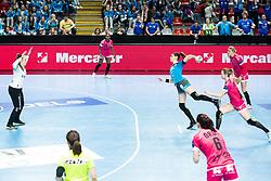 Varagic Alja of RK Krim Mercator during handball match between RK Krim Mercator and Brest Bretagne Handball in 2nd main round of Women's DELO EHF Champions League 2019/20, on February 2, 2020 in Kodeljevo, Ljubljana,  Slovenia. Photo Grega Valancic / Sportida