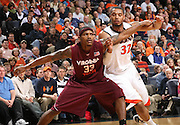 Malcolm Delaney scored 27 points and Virginia Tech beat Virginia 76-71 in overtime Thursday at the John Paul Jones Arena in Charlottesville, VA. (Photo/Andrew Shurtleff)