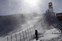 12-02-2018 SNOWBOARDEN: SLOPESTYLE: OLYMPISCHE SPELEN: OLYMPIC GAMES: PEYONGCHANG 2018<br /> sterke wind op de piste<br /> <br /> Foto: Soenar Chamid