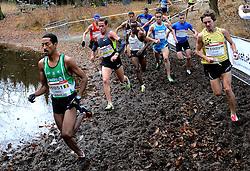 25-11-2012 ATLETIEK: NK CROSS WARANDELOOP: TILBURG<br /> Winnaar Dame Tasama BEL, Jesper Van der Wielen (U23), Abdi Nageeye, Khalid Choukoud<br /> ©2012-FotoHoogendoorn.nl