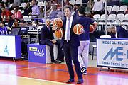 Assistente Vanoli Cremona, GRISSIN BON REGGIO EMILIA vs VANOLI CREMONA, Campionato Lega Basket Serie A 2017/2018, recupero 23° giornata, PalaBigi Reggio Emilia 18 aprile 2018 - FOTO Bertani/Ciamillo