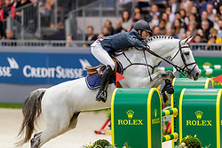 WATHELET Gregory (BEL), MJT Nevados S<br /> Genf - CHI Geneve Rolex Grand Slam 2019<br /> Rolex Grand Prix<br /> Internationale Springprüfung mit Stechen<br /> International Jumping Competition 1m60<br /> Grand Prix Against the Clock with Jump-Off<br /> 15. Dezember 2019<br /> © www.sportfotos-lafrentz.de/Stefan Lafrentz