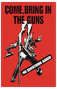 Gun Amnesty Poster
