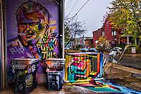 Rob Ford Graffiti, Kensington Market
