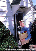 Active Aging Senior Citizens, Retired, Activities, Single Elderly Man with Groceries, Carrying Groceries Home