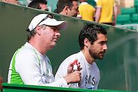 Jan De Witt - Entraineur Gael Monfils - 14.04.2015 - Tournoi de Monte Carlo - Masters 1000 -<br /> Photo : Serge Haouzi / Icon Sport