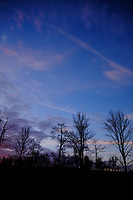 Colorful Clouds at Dawn. Composite  9 of 12 images taken with a Fuji X-T2 camera and 8-16 mm f/2.8 lens (ISO 200, 16 mm, f/5.6, 1/60 sec). Raw images processed with Capture One Pro and AutoPano Giga Pro.