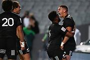 William Warbrick celebrates a try.<br /> All Blacks Sevens v Australia, Trans-Tasman Sevens. Eden Park, Auckland. New Zealand. Saturday 22 May 2021. © Copyright Photo: Andrew Cornaga / www.photosport.nz