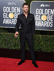 Alicia Vikander at the 75th Annual Golden Globe Awards held at the Beverly Hilton Hotel on January 7, 2018 in Beverly Hills, CA ©Tammie Arroyo-GG18/AFF-USA.com. 07 Jan 2018 Pictured: Chris Hemsworth. Photo credit: MEGA TheMegaAgency.com +1 888 505 6342