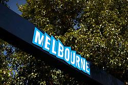 11.03.2015, Albert Park Circuit, Melbourne, AUS, FIA, Formel 1, Grand Prix von Australien, Vorberichte, im Bild Melbourn sign // during Preparations for the FIA Formula One Grand Prix of Australia at the Albert Park Circuit in Melbourne, Australia on 2015/03/11. EXPA Pictures © 2015, PhotoCredit: EXPA/ Sutton Images/ Patrik Lundin Images<br /> <br /> *****ATTENTION - for AUT, SLO, CRO, SRB, BIH, MAZ only*****