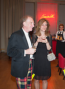 JOCK MCFADYEN; SUSIE HONEYMAN,  VIP room during the RA summer exhibition party. Royal Academy, Piccadilly. London. 5 June 2013.
