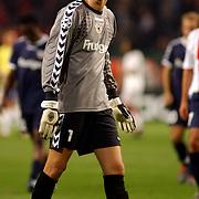 NLD/Amsterdam/20051018 - Champions League wedstrijd Ajax - FC Thun, keeper Eldin Jakupovic