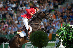 Christian Ahlmann, (GER), Codex One - World Champions, - Second Round Team Competition - Alltech FEI World Equestrian Games™ 2014 - Normandy, France.<br /> © Hippo Foto Team - Leanjo De Koster<br /> 25/06/14