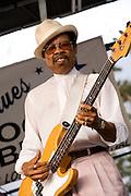 Phillip Walker at the Pocono Blues Festival 2007.