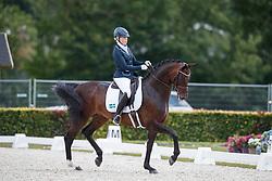 Österholm Yvonne, FIN, Dorina<br /> Longines FEI/WBFSH World Breeding Dressage Championships for Young Horses - Ermelo 2017<br /> © Hippo Foto - Dirk Caremans<br /> 04/08/2017