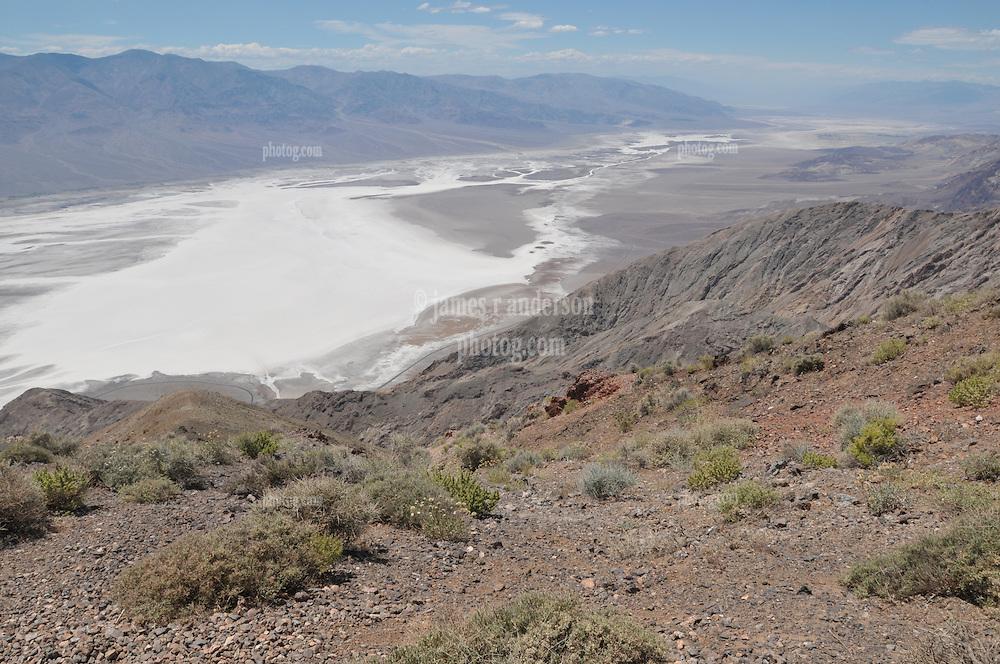 Atop Dantes Peak, Death Valley, California