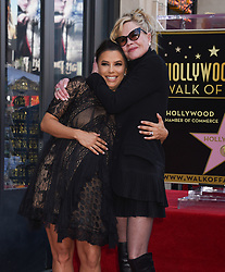 Victoria Beckham at the Walk of Fame honors Eva Longoria event at Chinese Theatre on April16, 2018 in Hollywood, CA. 16 Apr 2018 Pictured: Eva Longoria and Melanie Griffith. Photo credit: Janet Gough/AFF-USA.com / MEGA TheMegaAgency.com +1 888 505 6342