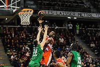 Shawn King  - 29.12.2014 - Lyon Villeurbanne / Le Havre - 16e journee Pro A<br />Photo : Jean Paul Thomas / Icon Sport