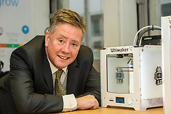 Pictured: Keith Brown<br /> <br /> Today Keith Brown MSP opened Scotland's first Barclays Eagle lab in partnership with CodeBase. The resource allows businesses and communities to access new technologies and boost digital skills while supporting job creation in the local economy. <br /> <br /> Ger Harley   EEm 16 January 2018
