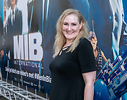2019, June 17. Pathe ArenA, Amsterdam, the Netherlands. Hannelore Zwiterslood at the dutch premiere of Men In Black International.