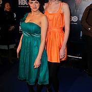 NLD/Amsterdam/20120208 - Start HBO tv in Nederland, Wynn Heliczer en Jolanda van den Berg