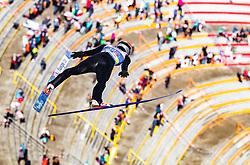24.02.2019, Bergiselschanze, Innsbruck, AUT, FIS Weltmeisterschaften Ski Nordisch, Seefeld 2019, Nordischen Kombination, Teambewerb, Skisprung, Wertungssprung, im Bild Franz Josef Rehrl (AUT) // Franz Josef Rehrl of Austria during the skijump for the team competition Nordic Combined of FIS Nordic Ski World Championships 2019. Bergiselschanze in Innsbruck, Austria on 2019/02/24. EXPA Pictures © 2019, PhotoCredit: EXPA/ JFK