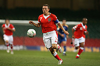 Photo: Rich Eaton.<br /> <br /> Wales v Cyprus. UEFA European Championships 2008 Qualifying. 11/10/2006. captain of Wales Craig Bellamy