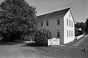 Y-680604-A18.  The Ox Barn, Aurora Colony Museum, Aurora Colony Historical Society, corner of Second & Liberty streets. Aurora, Oregon. June 4, 1968