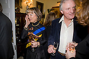 LADY MEYER; CHARLES ANSON, Mrs. Richard Briggs at home to celebrate Catherine Meyer's birthday. Sloane Gardens. London. 28 January 2009 *** Local Caption *** -DO NOT ARCHIVE-© Copyright Photograph by Dafydd Jones. 248 Clapham Rd. London SW9 0PZ. Tel 0207 820 0771. www.dafjones.com.<br /> LADY MEYER; CHARLES ANSON, Mrs. Richard Briggs at home to celebrate Catherine Meyer's birthday. Sloane Gardens. London. 28 January 2009
