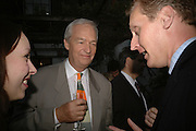 Katy Taylor-Richards and peter Snow. BOOK PARTY FOR TABATHA'S CODE BY MATTHEW D'ANCONA. Spectator. Doughty St. London. 11 May 2006. ONE TIME USE ONLY - DO NOT ARCHIVE  © Copyright Photograph by Dafydd Jones 66 Stockwell Park Rd. London SW9 0DA Tel 020 7733 0108 www.dafjones.com