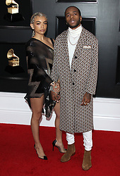 61st Annual Grammy Awards - Arrivals. 10 Feb 2019 Pictured: 6lack. Photo credit: Jaxon / MEGA TheMegaAgency.com +1 888 505 6342