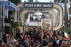 January 6, 2019 - Los Angeles, California, U.S. - Jan 6, 2019 - Beverly Hills, California, U.S. - The red carpet is full of people before the 76th Annual Golden Globe Awards at The Beverly Hilton Hotel..(Credit: © Kevin Sullivan via ZUMA Wire) (Credit Image: © Kevin Sullivan via ZUMA Wire)