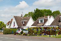 Wilmcote village Wawickshire ,VE Day celebrations photo by Mark Anton Smith