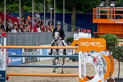 RUTSCHI Niklaus (SUI), CLEARWATER<br /> Münster - Turnier der Sieger 2019<br /> BRINKHOFF'S NO. 1 -  Preis<br /> CSI4* - Int. Jumping competition  (1.50 m) -<br /> 1. Qualifikation Grosse Tour <br /> Large Tour<br /> 02. August 2019<br /> © www.sportfotos-lafrentz.de/Stefan Lafrentz