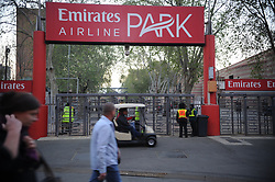 South Africa - Johannesburg, Emirates Airlines Park. 24/08/18  Currie Cup. Lions vs Griquas.<br /> One go the turnstile entrances to the stadium. Picture: Karen Sandison/African News Agency(ANA)