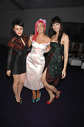 Left to right, JAIME WINSTONE, LILY ALLEN and DAISY LOWE at the 2008 Glamour Women of the Year Awards 2008 held in the Berkeley Square Gardens, London on 3rd June 2008.<br />