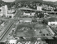 1954 Excavation for Capitol Records Tower