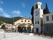 Church building in Kavala, Macedonia, Greece