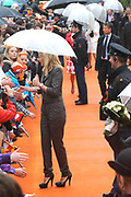 Koninginnedag 2010 . De Koninklijke familie in het zeeuwse Wemeldinge. / Queensday 2010. The Royal Family in Wemeldinge<br /> <br /> op de foto / on the photo :  Prinses Mabel