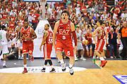 DESCRIZIONE : Campionato 2013/14 Finale GARA 7 Olimpia EA7 Emporio Armani Milano - Montepaschi Mens Sana Siena Scudetto<br /> GIOCATORE : Alessandro Gentile<br /> CATEGORIA : Esultanza<br /> SQUADRA : Olimpia EA7 Emporio Armani Milano<br /> EVENTO : LegaBasket Serie A Beko Playoff 2013/2014<br /> GARA : Olimpia EA7 Emporio Armani Milano - Montepaschi Mens Sana Siena<br /> DATA : 27/06/2014<br /> SPORT : Pallacanestro <br /> AUTORE : Agenzia Ciamillo-Castoria / Luigi Canu<br /> Galleria : LegaBasket Serie A Beko Playoff 2013/2014<br /> Fotonotizia : DESCRIZIONE : Campionato 2013/14 Finale GARA 7 Olimpia EA7 Emporio Armani Milano - Montepaschi Mens Sana Siena<br /> Predefinita :