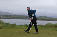 Niall O'Callaghan (Greenore) on the 6th tee during Round 3 of the Ulster Boys Championship at Donegal Golf Club, Murvagh, Donegal, Co Donegal on Friday 26th April 2019.<br /> Picture:  Thos Caffrey / www.golffile.ie