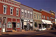 Northcentral Pennsylvania, restored row houses, Morris Run, PA