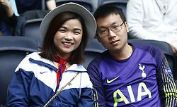 May 12, 2019 - London, England, United Kingdom - Tottenham Hotspur Fans.during English Premier League between Tottenham Hotspur and Everton at Tottenham Hotspur Stadium , London, UK on 12 May 2019. (Credit Image: © Action Foto Sport/NurPhoto via ZUMA Press)