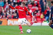 Barnsley defender Liam Lindsay (6) in action  during the EFL Sky Bet League 1 match between Barnsley and Luton Town at Oakwell, Barnsley, England on 13 October 2018.