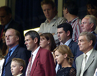 Photo: Richard Lane.Digitalsport<br /> Arsenal v Manchester United. FA Community Shield. 08/08/2004.<br /> The FA men, David Davis, Trevor Brooking and Sven Goran Eriksson.