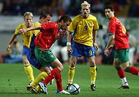 Fotball<br /> Treningskamp<br /> Portugal v Sverige<br /> 28. april 2004<br /> Foto: Digitalsport<br /> NORWAY ONLY<br /> <br />  FRECHAUT (POR)